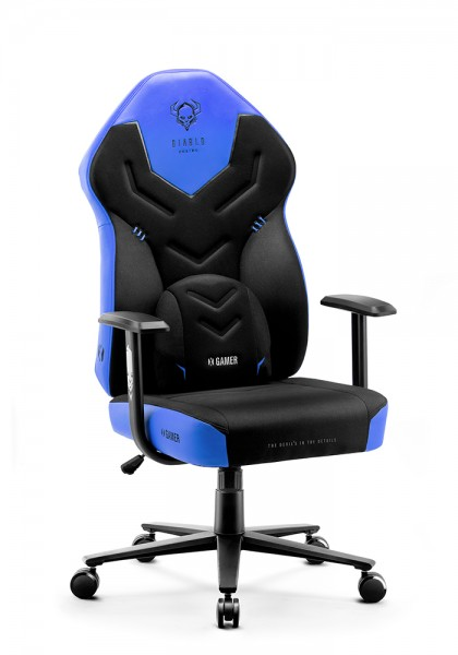<span>Fotel gamingowy Diablo X-Gamer 2.0 Normal Size </span> cool water