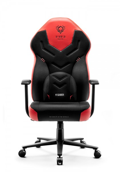 Deep red <span>fotel gamingowy Diablo X-Gamer 2.0 Normal Size</span>